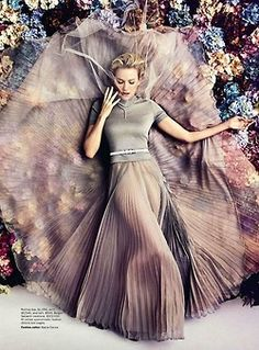 Naomi Watts in Rochas(SS 2013)for Vogue Australia February 2013  Source: Faystyle