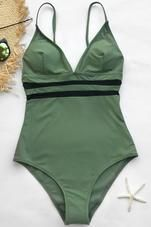 Cupshe Like You Do Mesh One-piece Swimsuit #onepieceswimsuit