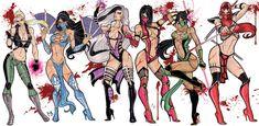 Video Game Characters, Fantasy Characters, Female Characters, Anime Characters, Fantasy Character Design, Character Concept, Character Art, Kitana Mortal Kombat, Mileena
