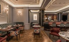 """""""The Game Bird"""" - the best restaurant in London, explore it now! / restaurant design, restaurant interior design, hospitality design / #restaurantinlondon #wheretoeatinlondon #bar design / Read also : http://www.designcontract.eu/category/projects/"""