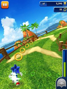 Sonic Dash App by SEGA. Endless Running Apps.