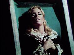 Angelique in coffin-Dark Shadows
