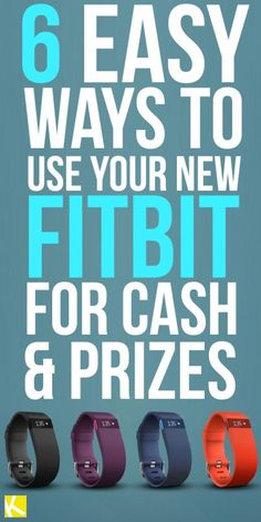 Maybe you're just like me — who resolved to get in shape and burn off some extra holiday weight. Did you know you can actually MAKE money with your Fitbit? Fit Bit Charge 2, Smart Fitness Tracker, Best Fitness Watch, Weight Loss Challenge, Get In Shape, Extra Money, Fun Workouts, Fitbit 2, Fitbit Hacks