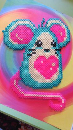 Pretty Mousie! by GwenniStars - Kandi Photos on Kandi Patterns