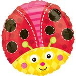 Balloon: Ben and Holly party 18'' Cute Ladybug (each)