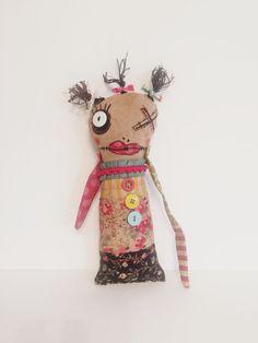 Art Doll Plushie Monster Doll Softie Soft by dollyzemomma on Etsy