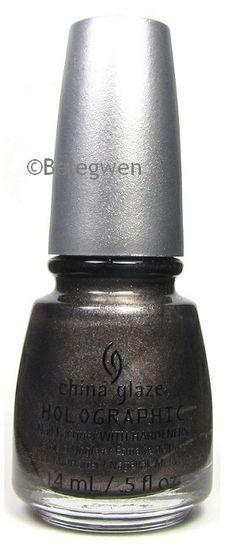 China Glaze - Galactic Gray