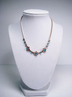 Vintage Probst Necklace 12k GF Flower by PSSimplyVintage on Etsy