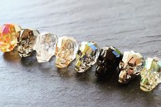 Does anyone love Swarovski®️ Skull Beads as much as me? We stock every size, colour & finish in both small & wholesale packs. Take a look at our fabulous Online Store or Mobile Appand shop from the Largest Range