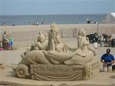 sand sculpting hampton beach NH