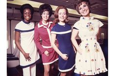 American Airlines, early 1970s - Virgin America's New Uniforms: A 75-Year History of Fashion In Flight - TIME