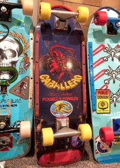 Old School Skateboards, Vintage Skateboards, Skateboard Pictures, Skateboard Art, 80s Design, Skate Art, The Good Old Days, Decks, Nostalgia