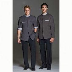 Source Bellboy Uniform for Hotel Housekeeping Uniform doorman uniform on m.alibaba.com Hotel Uniform, Office Uniform, Men In Uniform, Office Wear, Uniform Ideas, Corporate Uniforms, Staff Uniforms, Boys Uniforms, Housekeeping Uniform