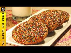 I'd love to hear your thoughts! Pan con grageas o chochitos / Sprinkle cookies. https://youtube.com/watch?v=y-D0IX2KwqU