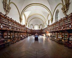 Amazing floor! University of Salamanca Library, Salamanca, Spain