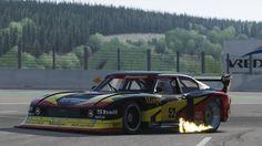 DRM Zakspeed Ford Capri Turbo Ford Capri, Le Mans, Touring, Mustang, Classic Cars, Racing, Gen 1, Vehicles, Race Cars