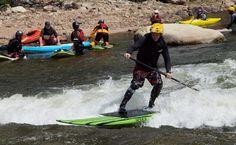 River Surfing Etiquette