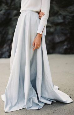 beautiful maxi skirt.