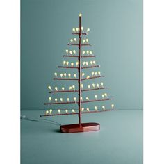 Habitat Natale Flat Copper LED tree