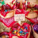 Cestas con dulces
