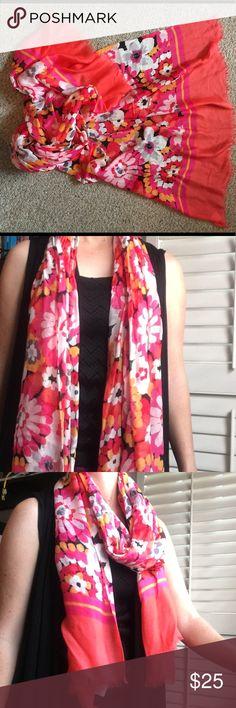 "US SELLERlove heart boho 36/"" large satin square scarf vintage big scarf wrap"