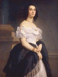 Adèle Hugo par Louis Boulanger (1839, maison de Victor Hugo, Paris)