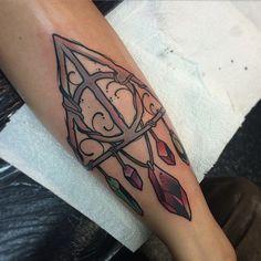 Deathly hallows tattoo 3
