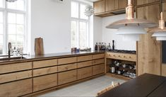 Frederiksberg - Snedkeriet KBH Kitchen Island, Kitchen Cabinets, New Homes, Building, Inspiration, Home Decor, Kitchens, Layout, Haus