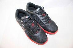 Gravity Defyer Men's FLEXNET ll Shoes Sneakers Black Red 12.5 M RETAIL FOR $130 #GravityDefyer #RunningCrossTraining