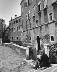 André Kertész, Venecia (1963).