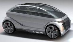 Audi A 2.0 e-tron concept car