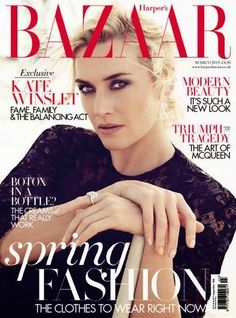 Kate Winslet - Harper's Bazaar UK
