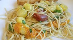 Roasted Tomato Pasta #vegetarian