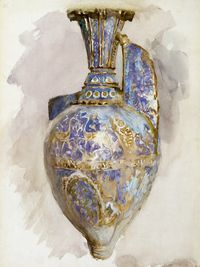John Singer Sargent, The Alhambra Vase, 1870.  Museum purchase, 1971 (37.2469)