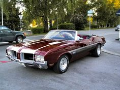 71er Oldsmobile 442 Convertible
