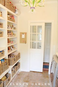 laundry and pantry combo