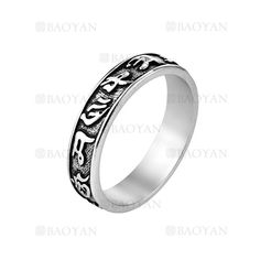 anillo de constelacion moda acero plateado inoxidable para hombre -SSRGG271909
