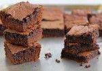 Receta de Tentadores brownies Sin Gluten con Harina de Arroz