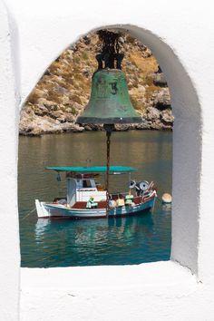 θέα από καμπαναριό, Λίνδος, Ρόδος - view from  belfry,Lindos, Rhodes,Greece