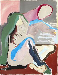"""Saatchi Online Artist Mathieu Bernard-Martin; Painting, """"The man sits"""" #art"""