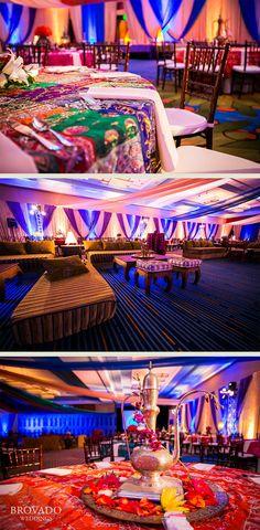 Lavish Indian Wedding Reception