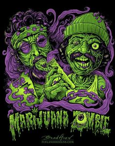 Weed zombie