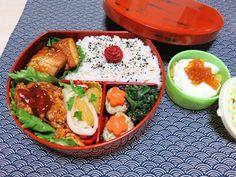輪島塗のお弁当箱|ほぼ引きこもり生活 bento wasyoku