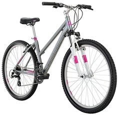 "Diamondback Bicycles Laurito Women's Recreational Mountain bike, Silver, 15""/Small http://coolbike.us/product/diamondback-bicycles-laurito-womens-recreational-mountain-bike-silver-15small/"