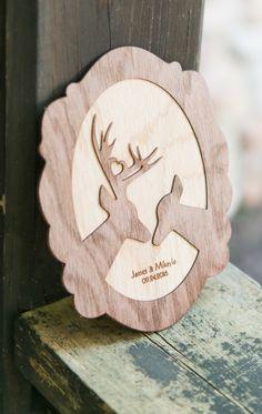 Personalized Wood Veneer Sign