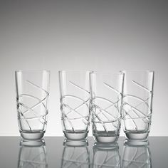 Adorn 4-piece Highball Glass Set by Lenox from Lenox