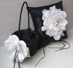 10 Inch Satin and Sash Ring Bearer by RomancingJuliet on Etsy, $65.00