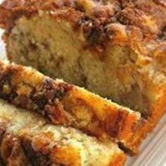 Apple Cinnamon Loaf (from JustAPinch com)