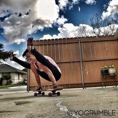 11 best skateboard yoga style images  yoga arm balance