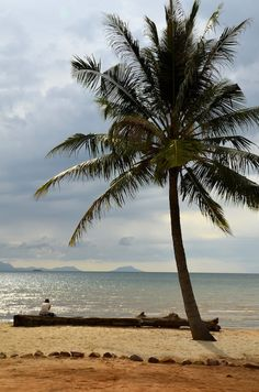 On the beach of Kep, Cambodia